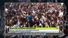 Beşiktaş taraftarları İstanbul Boğazına akın etti