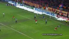 Galatasaray 1-0 Juventus – Sneijder Gol