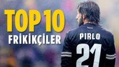 En İyi Frikikçileri – Aktif Futbolcular