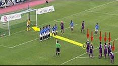 Futbolda En Kurnazca Atılan Frikik Golleri