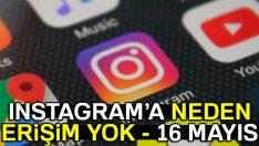 Instagram neden çöktü? 16.05.2017