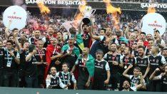 Beşiktaş kupasını aldı