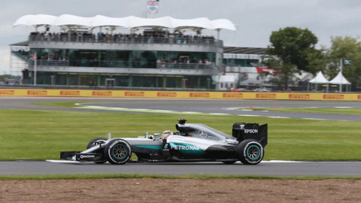 Britanya GP pole pozisyonu Hamilton'un
