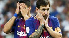 Barcelona takımı kentteki terör saldırısından sonra yas amaçlı maça siyah bantla çıkacak..