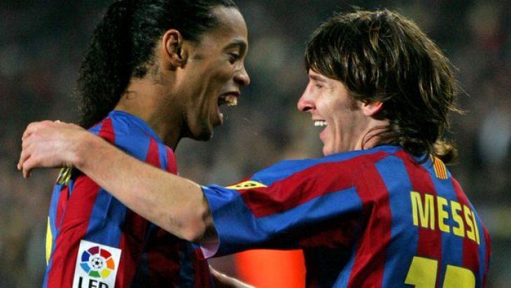 Brezilyalı Efsane Ronaldinho: Gelmiş Geçmiş En İyi Futbolcu Messi