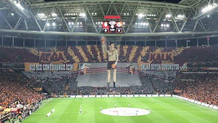 Galatasaray'dan şüpheli koreografi