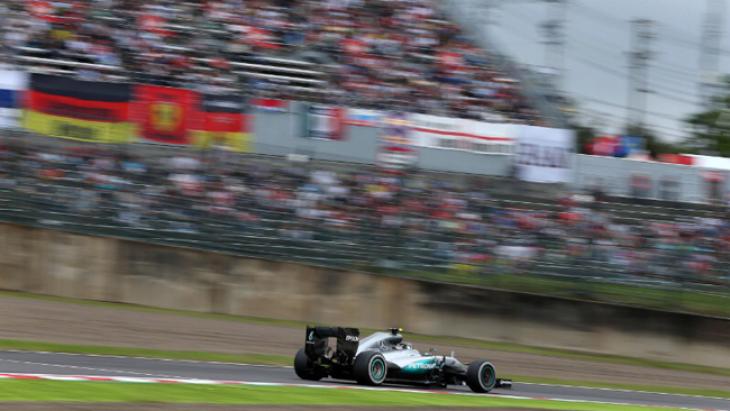 F1'de durak Japonya GP