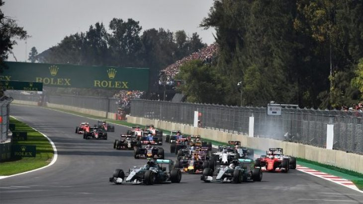 Formula 1 Meksika yarışı 29 ekim 2017