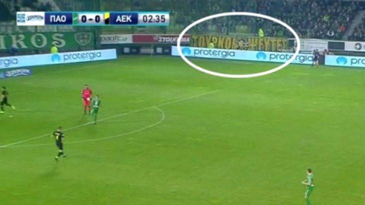 Panathinaikos'tan AEK'ya :Sahte Türkler