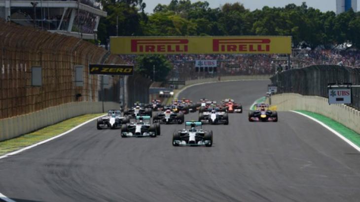 F1'de 19. yarış Brezilya GP