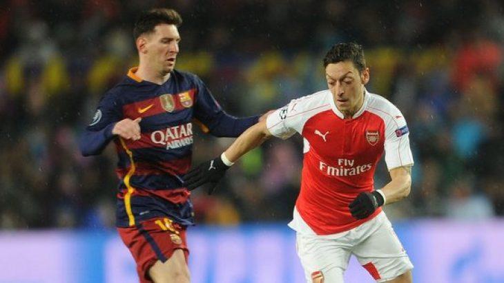 Messi'den Mesut Özil'e sert çıkışı!