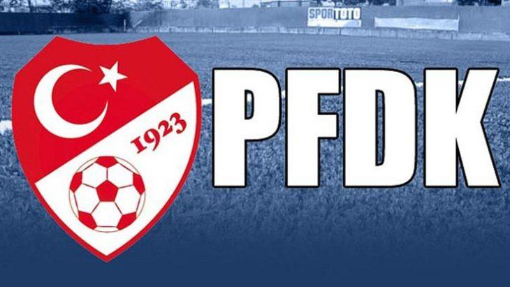 PFDK kararları açıklandı, 10 takım ceza aldı!